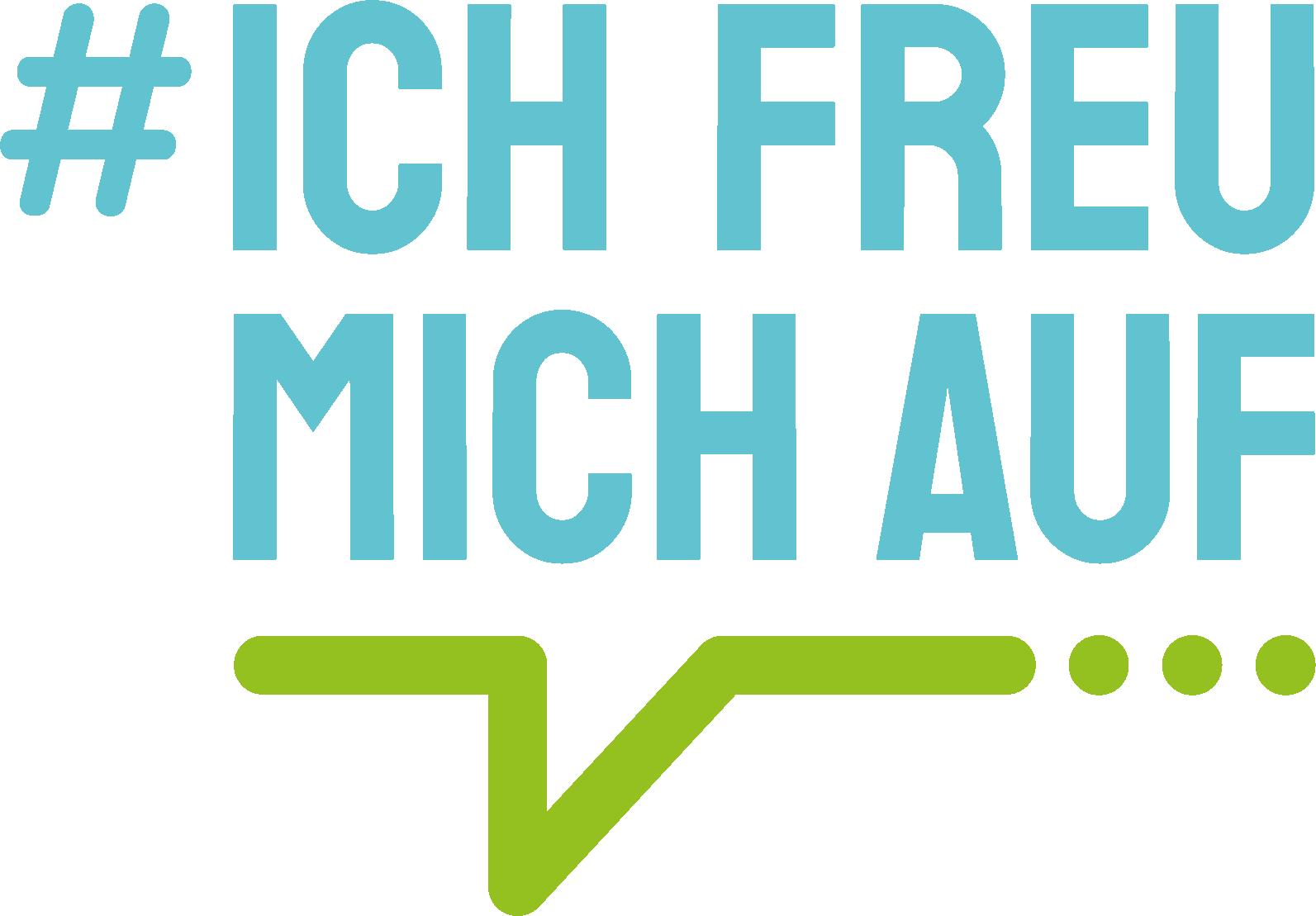 Logo_Ich Freu Mich_blu green